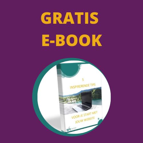 gratis e-book met tips voor je website