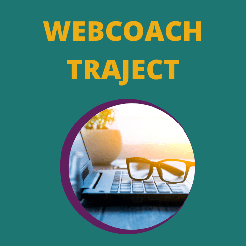 Webcoachtraject, hulp bij het maken van jouw website